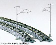 Kato N Scale UniTrack Train Catenary Poles & Accessories Single Track 16-Pack