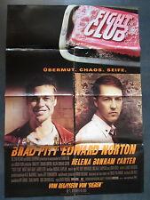 FIGHT CLUB - Filmplakat A1 - David Fincher - Brad Pitt, Edward Norton
