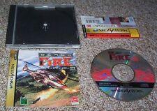 SEGA SATURN: BLACK FIRE-GIAPPONESE NTSC