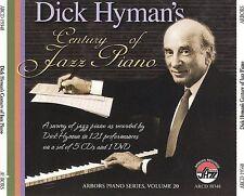 Dick Hyman's Century of Jazz Piano by Dick Hyman (CD, Sep-2009, 6 Discs, Arbors Records)