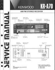 Kenwood Original Service Manual für KR-A 70
