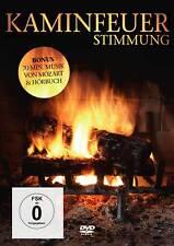 DVD feu de cheminée Atmosphère DVD INCLUS LIVRE AUDIO