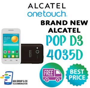 ALCATEL POP D3 4035D - UNLOCKED BRAND NEW 4 Inch DUAL SIM CHEAP 3G ANDROID PHONE