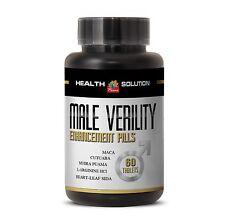 Male Enhance - MALE VERILITY-Tribulus, Pumpkin,Cayenne,Boron Citrate,Maca 1 Bot