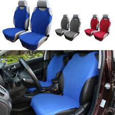 Universal Vest Design Car Front Seat Cover Protector T-shirt Blue Washable 1pcs