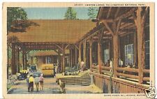 Original Vintage Haynes Studio #35361p PC-Yellowstone-Canton Lodge-Auto