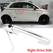 For Genuine Fiat 500 Offside Right Driver Side Chrome Outer Door Handle Durable