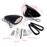 LED Side Mounted Rear View Mirrors For All Suzuki GSX1300R Hayabusa GSXR 600