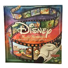 2007  Calendar Disney Magic moments