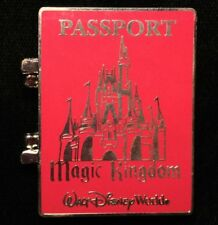 DISNEY PIN - WDW Marquee Passport Magic Kingdom Mickey Mouse LE - New