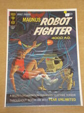 MAGNUS ROBOT FIGHTER #19 VG (4.0) GOLD KEY COMICS AUGUST 1967