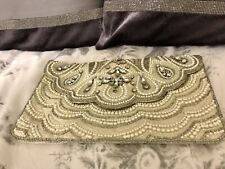 New Embroidery New Look Clutch Bag RRP £24.99