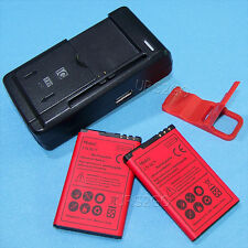 New Extended Slim 1800mAh Battery House Charger Bracket For At&T Nokia Lumia 520