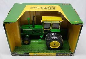 John Deere 4320 Tractor W Hiniker Cab & Duals By Ertl 1/16 Collector Edition