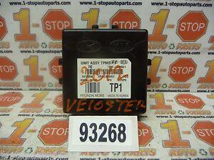 12 13 HYUNDAI VELOSTER TIRE PRESSURE CONTROL MODULE TPMS 95800-2V100 OEM