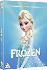 FROZEN [Blu-ray] (2013) Animated Disney Movie w/ Slipcover Art Sleeve Anna Elsa