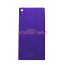 Sony Xperia Z2 Battery Door Back Cover – Purple * Repair Part - NEW - CANADA