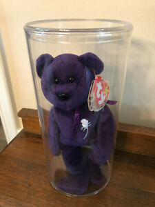 Collectible Princess Diana Ty Beanie Baby Mint With Tag and in Plastic Case 1997