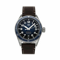 Tag Heuer Autavia Steel Auto 42mm Leather Tang Mens Watch WBE5116.FC8266