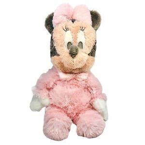 "Disneyland Baby Minnie Mouse Plush 20"" Pink Large Lovey Toy Walt Disney World"