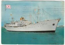 Aznar Line; Cargo Liner SS Monte Anaga PPC, c 1960's, Official Card