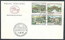 1985 ITALIA FDC CAVALLINO VILLE NO TIMBRO ARRIVO - CV1985-3