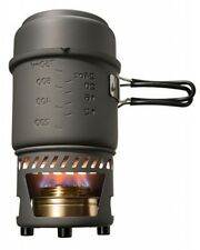 Esbit Compact Camping Stove and Pots Cookset With Alcohol Burner Cs985ha