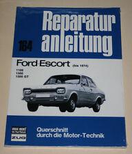 Reparaturanleitung Ford Escort Mk I / Mark 1 Knochen, Baujahre bis 1974