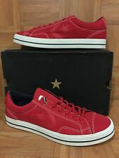 RARE🔥 Converse Star Player First Sting FS OX Sz 13 Red 129442C Men's Retro Shoe