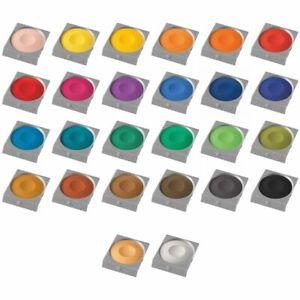 PELIKAN Deckfarbe Ersatzfarbe für Malkasten [alle 26 Farben]