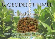 Ca.1000 Tabaksamen B.GeudertheimerDer Allround-Klassiker für Zigaretten/Pfeifen