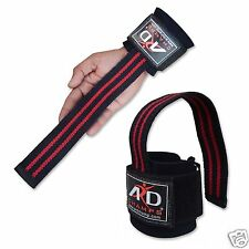 ARD CHAMPS™ WEIGHT LIFTING STRAP BODYBUILDING WRIST SUPPORT WRAPS BANDAGE R&B