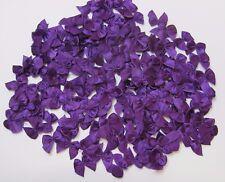 50 x Mini Plain Purple Satin Bows 20mm x 20mm (10mm Ribbon) Applique' cardmaking