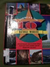 Lot of 2 America's Top 10 Series: Natural Wonders and Rivers (Hardcovers)