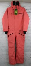 New Airblaster Womens Freedom Suit Snowboard Suit Medium Coral