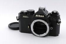 [Excellent+] Nikon FM3A 35mm SLR Film Camera Black Body from Japan 392