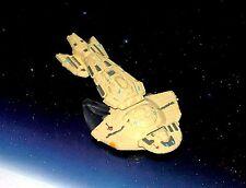 STAR TREK MICRO MACHINES CARDASSIAN OBSIDIAN WARSHIP (VERY RARE)