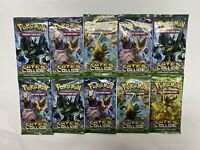 10 x Pokemon XY Fates Collide Booster Packs 10 Cards per pack NEW Fast Shipping