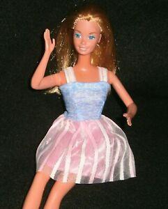VINTAGE 1980's SUPERSTAR ERA Blonde BARBIE Doll ~ MOVE Her Leg, Her HEAD Turns!