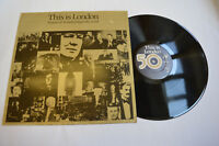 """This Is London 50 Years of Broadcasting to the World 12"""" LP BBC 1982 Ex/VG+"""
