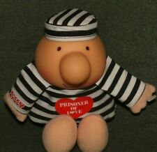 Vintage 1986 Ziggy American greetings plush doll prisoner of love with tag