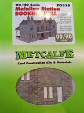 Metcalfe Kit PO320. Mainline Station Booking Hall. OO Scale.
