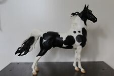 Breyer Traditional Model Horse #1141 - Black and White American Saddlebred Pinto