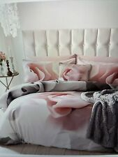 BNWT Ted Baker Porcelain Rose Double Duvet Cover, 100% Cotton Sateen