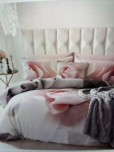 BNWT Ted Baker Porcelain Rose Kingsize Duvet Cover, 100% Cotton Sateen