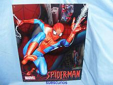 Spiderman Marvel Comic Metal Advertising Sign Tin Sign Garage Bedroom Sign