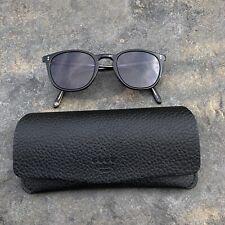 New Garrett Leight Sunglasses Emperors 2079-52-BKLCY//BK PLR Black//Crystal//polar