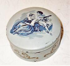 vintage Reuge Sainte Croix victorian theme Swiss powder/ music box 2 waltzes vgc