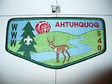 Ahtuhquog Lodge 540,S-19, 1993,OA MGM Chief Flap,57,67,130,242,275,441,497,MD,PA