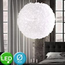 LED Hänge Decken Lampe Blumen Kugel WEIß Höhen-Verstellbar Pendel Leuchte Licht